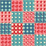 Naadloos patroon 5 van het dekbed Royalty-vrije Stock Afbeelding