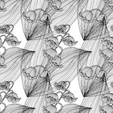 Naadloos patroon Stock Afbeelding