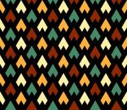 Naadloos patroon Abstract Psychedelisch Art Background Royalty-vrije Stock Afbeelding