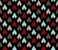 Naadloos patroon Abstract Psychedelisch Art Background royalty-vrije illustratie