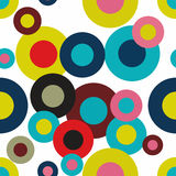 Naadloos patroon Abstract Psychedelisch Art Background Vector IL stock illustratie