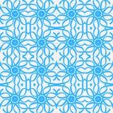 Naadloos patroon - abstracte achtergrond Stock Afbeelding
