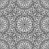 Naadloos patroon - abstracte vectorachtergrond Stock Foto