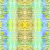 Naadloos patroon Abstracte waterverfachtergrond - decoratieve samenstelling U royalty-vrije illustratie
