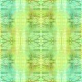 Naadloos patroon Abstracte waterverfachtergrond - decoratieve samenstelling U vector illustratie