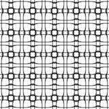 Naadloos patroon Abstracte zwart-wit achtergrond Royalty-vrije Stock Foto