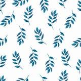 Naadloos patroon, achtergrond, textuurdruk met lichte watercolo stock illustratie