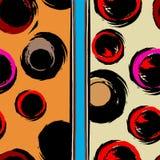 Naadloos patroon als achtergrond Royalty-vrije Stock Afbeelding