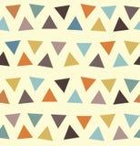 Naadloos patroon als achtergrond in de herfstkleuren Stock Foto