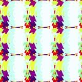 Naadloos patroon als achtergrond met multi-colored gekleurde vlekken vector illustratie