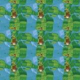 Naadloos patroon als achtergrond met multi-colored gekleurde vlekken royalty-vrije illustratie