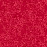 Naadloos patroon. Antiek ornament. vector illustratie