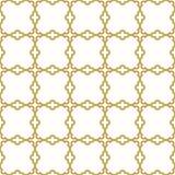 Naadloos patroon in Arabische stijl Stock Afbeeldingen