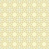 Naadloos patroon in Arabische stijl Stock Afbeelding
