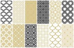 Naadloos patroon in Aziatische en Marokkaanse stijl vector illustratie