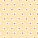 Naadloos patroon Bloem Royalty-vrije Stock Fotografie