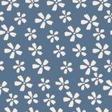 Naadloos patroon Bloem Stock Foto's