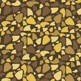 Naadloos Patroon - Bruine Vlekken Royalty-vrije Stock Foto