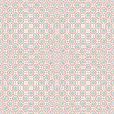 Naadloos patroon - de gekleurde patronen van de pastelkleur geometrische krabbel op witte achtergrond EPS Vectordossier stock illustratie