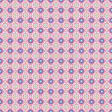 Naadloos patroon - de gekleurde patronen van de pastelkleur geometrische krabbel op witte achtergrond EPS Vectordossier royalty-vrije illustratie