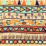 Naadloos patroon in de Mexicaan Royalty-vrije Stock Afbeelding
