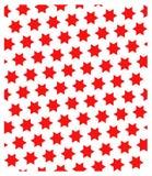 Naadloos patroon de ster van David Stock Foto's