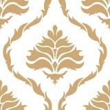 Naadloos patroon in de stijl van barok royalty-vrije illustratie