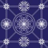 Naadloos patroon in de stijl van Japan Royalty-vrije Stock Afbeeldingen