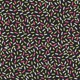 Naadloos patroon in de stijlontwerp van Memphis, textiel, website, achtergrond, banner Royalty-vrije Stock Fotografie