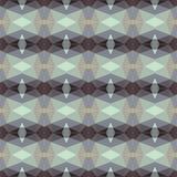 Naadloos patroon in donkere tonen Stock Afbeelding