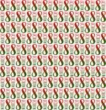 Naadloos patroon Feestelijk 8 Maart illustratie vector illustratie