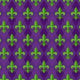 Naadloos patroon fleur-DE-lis Royalty-vrije Stock Foto