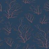Naadloos patroon Geborduurde orals Ñ  Royalty-vrije Stock Afbeelding