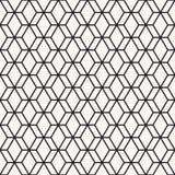 Naadloos patroon geometrisch Stock Foto