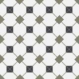 Naadloos patroon - grijs geruit Schots wollen stof Stock Afbeelding