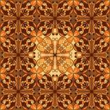 Naadloos patroon, Hand getrokken achtergrond Royalty-vrije Stock Fotografie