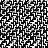 Naadloos patroon, hand getrokken waterco van het borstel geweven beeld Stock Foto