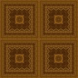 Naadloos patroon, houten inlegwerk Royalty-vrije Stock Foto