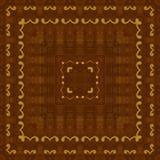 Naadloos patroon, houten inlegwerk Royalty-vrije Stock Afbeeldingen