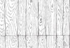 Naadloos patroon imitatie houten raad zwart Stock Foto's