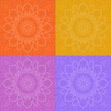 Naadloos patroon in Islamitische stijl Stock Afbeelding