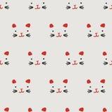 Naadloos patroon, Japans art. Royalty-vrije Stock Afbeelding