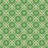 Naadloos patroon Klaverbehang St Patrick s dagachtergrond royalty-vrije illustratie