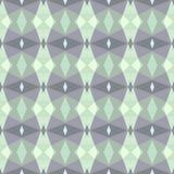 Naadloos patroon in koude tonen Stock Afbeeldingen