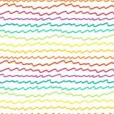Naadloos patroon met abstract geometrisch ornament Stock Foto