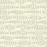 Naadloos patroon met abstract geometrisch ornament Stock Fotografie
