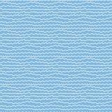 Naadloos patroon met abstract krabbelornament Royalty-vrije Stock Foto's