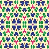 Naadloos patroon met abstract ornament Royalty-vrije Stock Afbeeldingen