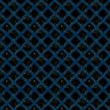 Naadloos patroon met abstracte bladeren stock illustratie