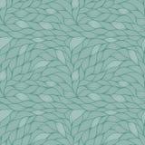 Naadloos patroon met abstracte golven Golvende grijze achtergrond Vectorgolftextuur Royalty-vrije Stock Foto